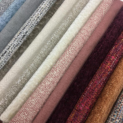 Rich textures and color distinguish the new Crypton fabric collections at United Fabrics