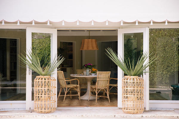 Harbour Island Lanterns are available in three sizes