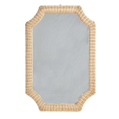 Montagu Notched Mirror