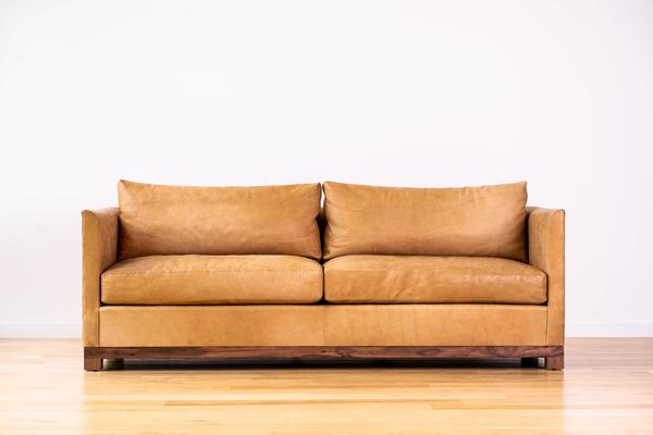 Mapleton Sofa in leather