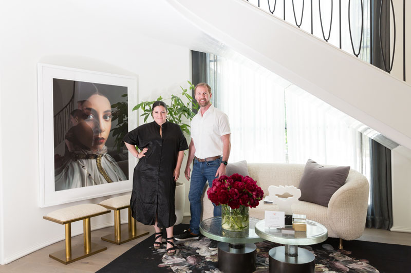 Niki Papadopoulos and Mark Williams of Mark Williams Design Associates