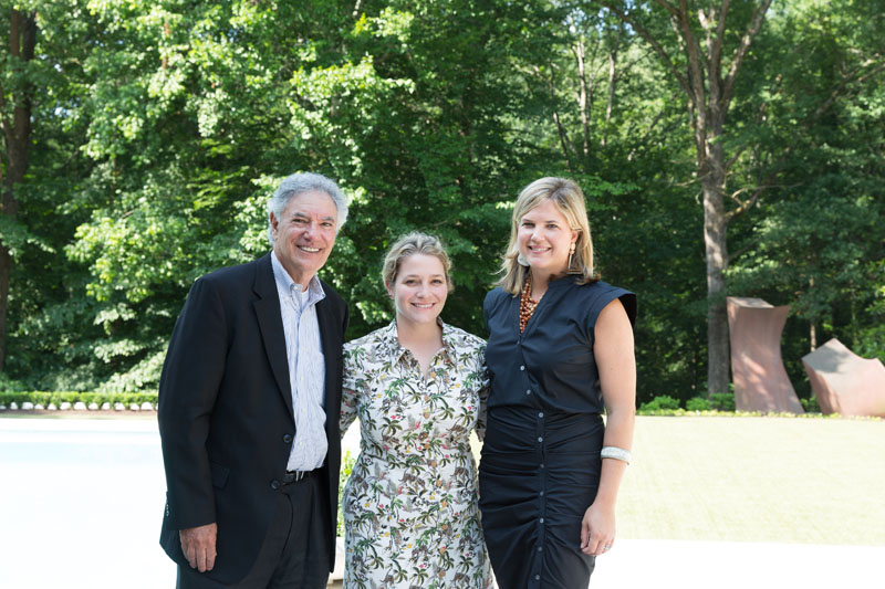 Brad Hanner, Zoë Gowen and Elizabeth Ralls of Atlanta Homes & Lifestyles