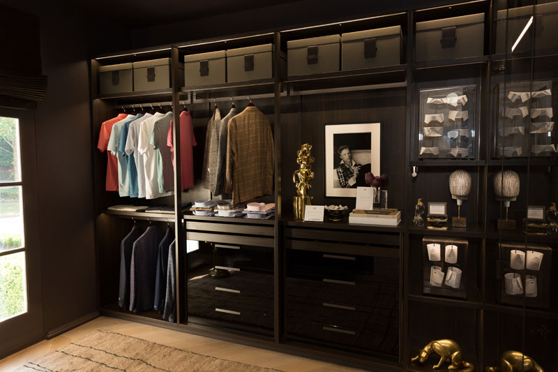 His Closet by Source, with wardrobe by Miller Brothers