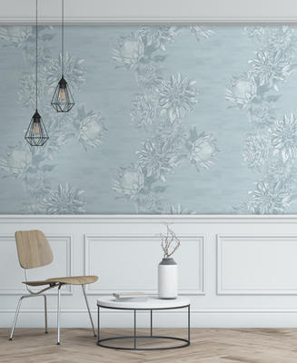 Dahling Wallpaper in Tranquil