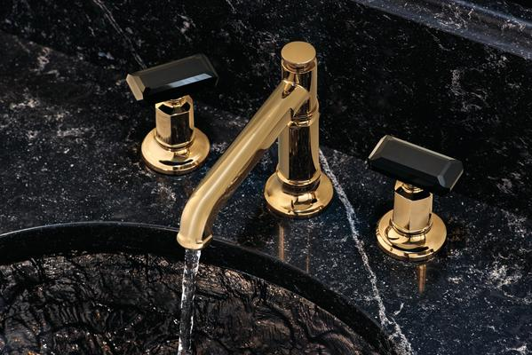 A Two-Handle Lavatory Faucet from the Invari Collection