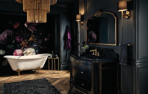 A bath featuring the Invari Collection