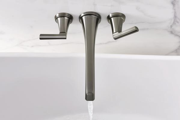 The Levoir Collection Two-Handle Wall Mount Lavatory Faucet
