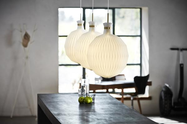 From Le Klint, the Model 101 Pendant Lamp Collection