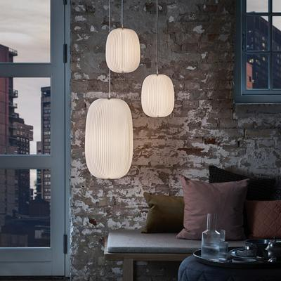 From Le Klint, the Lamella Pendant Lamp Collection