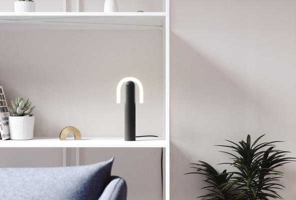 From BEEM, the Smile Bulb Lamp Collection, designed by Samuel Wilkinson