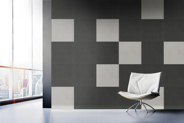 With Building Blocks, sesigners are able to tell a story through rich wood and concrete looks.