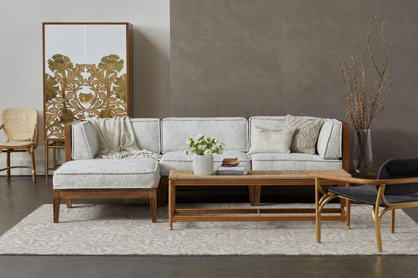 Selamat x Morris & Co. Thistle Sectional