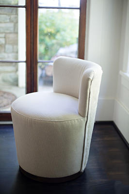 Teeny Chair with Hair-on-Hide Back