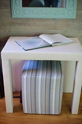 Porter Side Table and Cube
