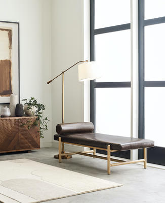 Finn daybed in leather