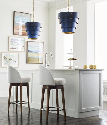 Margaux swivel counter stools