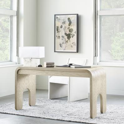 Harper desk in Natural with the Edie chair