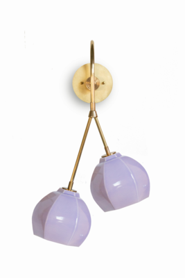 Barnacle Double Drop Sconce