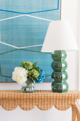 Barnacle Table Lamp in Thyme