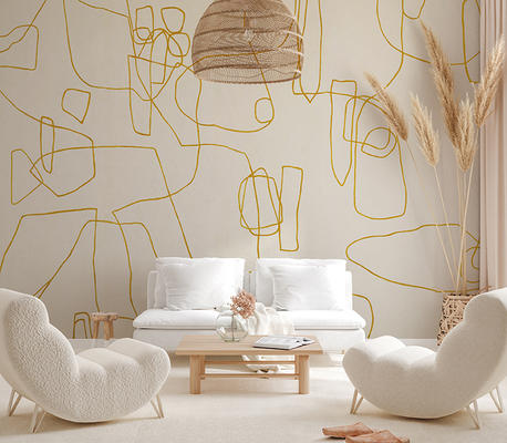 Form Wallcovering in Or
