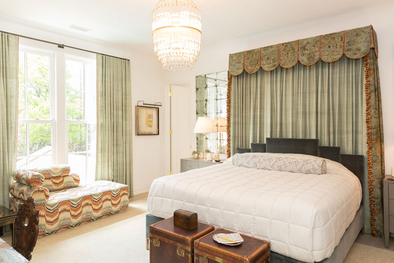 Bedroom by Florida designer Amy Newell of Charles Interiors