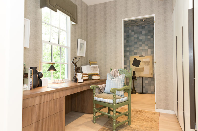Office, mudroom and laundry by Studio Wellington