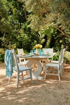 Rawley side chair and Grier dining table