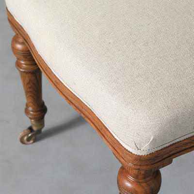 Detail of Clanville dining chair