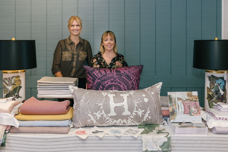 Sarah Boyd (right) at Tribute Goods