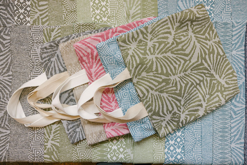 Tote bags from Suzanne Tucker Home