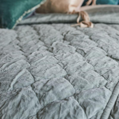 Harlow Coverlet in Mineral