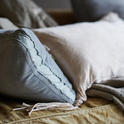 Harlow Accent Pillow in Mineral