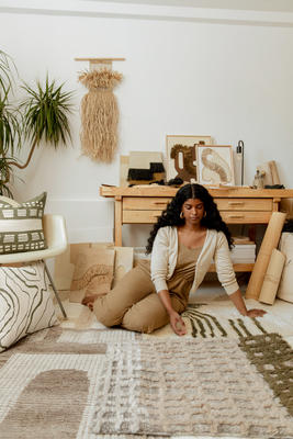 Earthy and tonal, Élan Byrd's collection focuses on rich texture and slow, intentional construction. Each style is inspired by Élan's distinctive natural fiber artwork