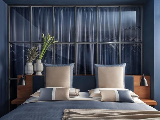 This season's sophisticated palette introduces Dark Azure, a deep blue inspired by scenic skies.