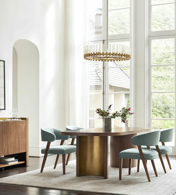 Hayes Dining Table and the Keane Dining Chair