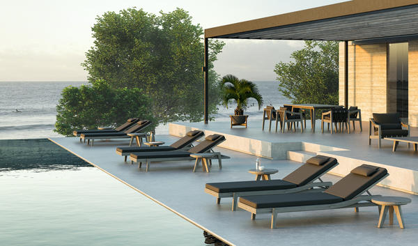 The Del Mar Collection from the MG+BW Outdoor Collection