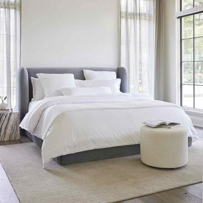 The Niles Bed and Franny Ottoman