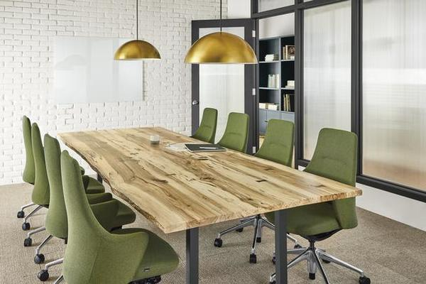Chilton conference table and LW office chairs