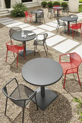 Theo chairs and Maris tables
