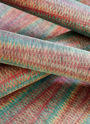 Moab Weave wallcovering in sunbaked