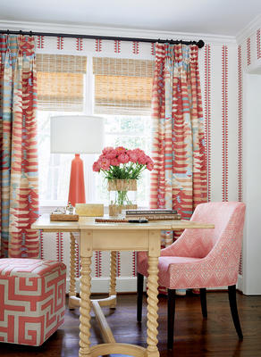 Coral color story from the Mesa Collection