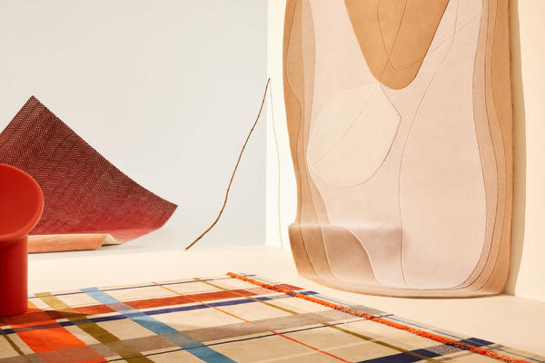 Forma | Act II   Rugs from front to back: Zara, River (hanging), Coda