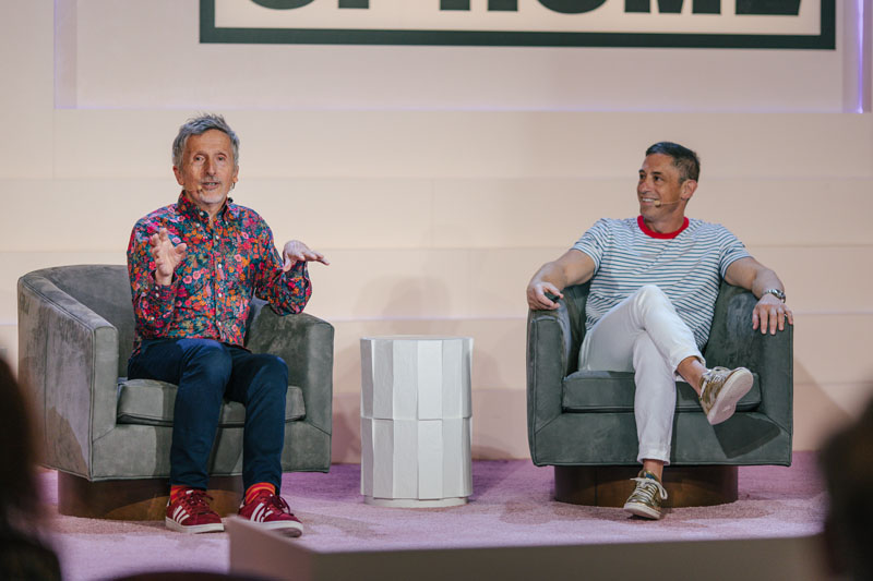 Simon Doonan and Jonathan Adler look into their Lucite ball for a conversation on the future of life at home.