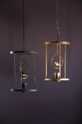 The Etienne Lantern takes much of its inspiration from the designs of Diego Giacometti. The abstracted bird is lit from below as if it could fly off at any second. The Etienne has been finished in a new Verdigris effect, echoing the hand-crafted textures created by Giacometti.