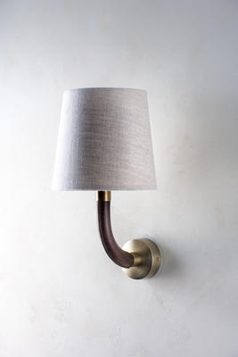 The Huxley gently extends from the wall and is also available as a flexible lighting solution.