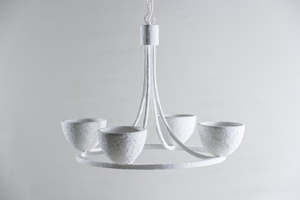 The younger sibling to the Compton chandelier, the Small Compton has been scaled down for the new collection.