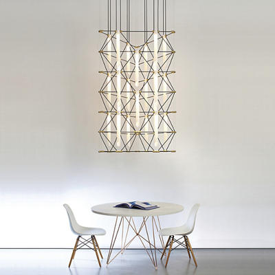 Mozaik Trio 2x3 Chandelier by Davide Oppizzi from DesignHeure