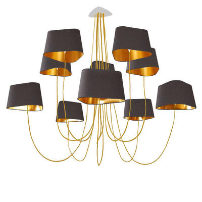 Nuage 10 Grand Chandelier by Herve Langlais from DesignHeure