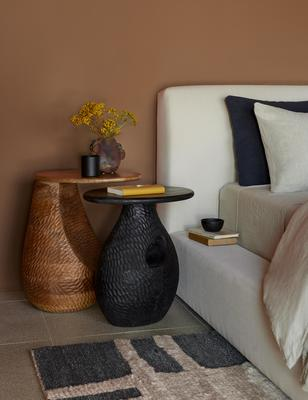Corso side table and Gem side table.