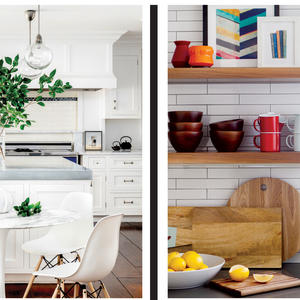 Kitchen Conundrum: Closed cabinetry or open shelving?
